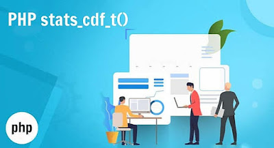 PHP stats_cdf_t() Function