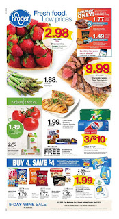 Kroger Weekly Ad Valid May 9 – 15, 2018