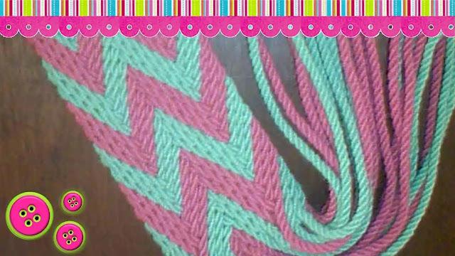 Cómo tejer una tiranta para mochila como lo hacen las wayúu