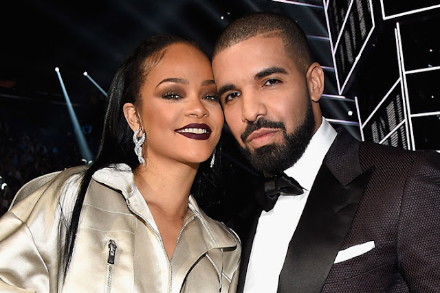 Rihanna Attends Drake's 33rd Birthday