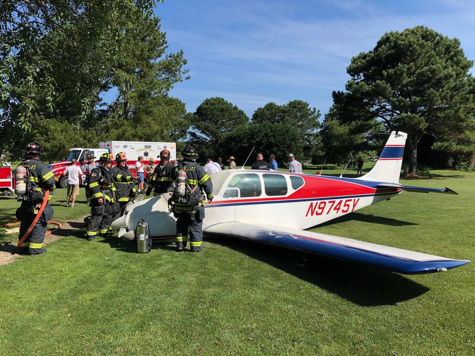 Kathryn's Report: Beech 35-B33 Debonair, N9745Y: Accident occurred