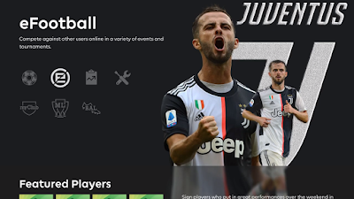 PES 2020 Juventus FC Menu Mod by Hawke
