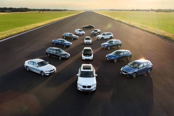 BMW anuncia Série 7, Série 5 e X1 elétricos no aniversário da marca BMW i