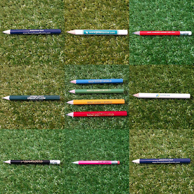 Minigolf pencils
