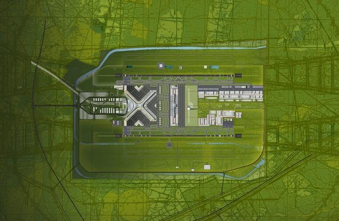 Aeroporto Internacional De Lisboa Nome : Imagens do novo aeroporto internacional de lisboa alcochete