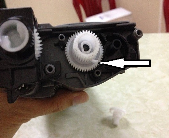 Hướng dẫn Reset hộp mực máy in Fuji Xerox P225