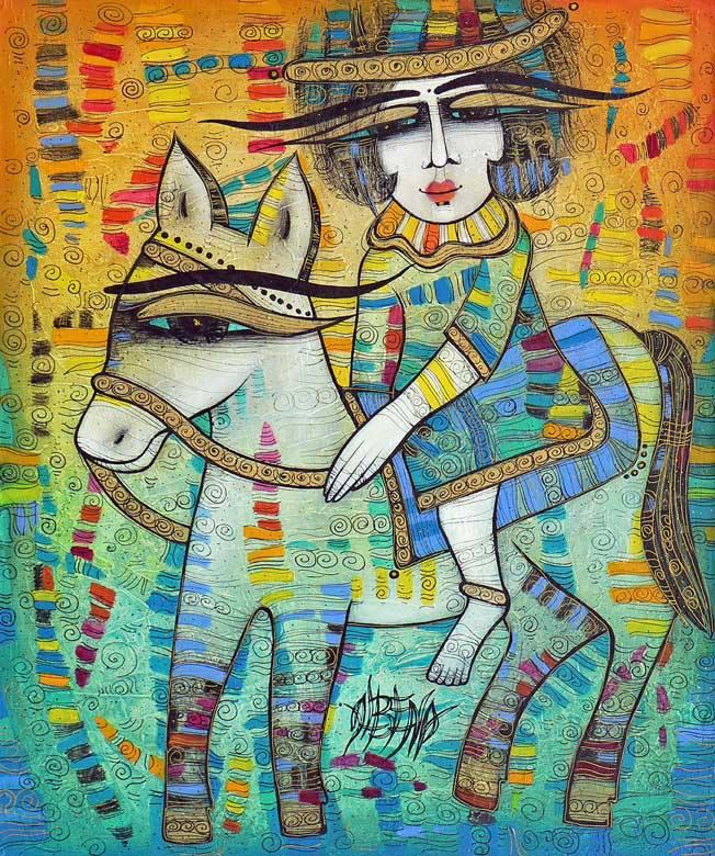 Albena Vatcheva e suas pinturas cheias de magia