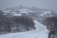 Snijeg Gornji Humac slike otok Brač Online