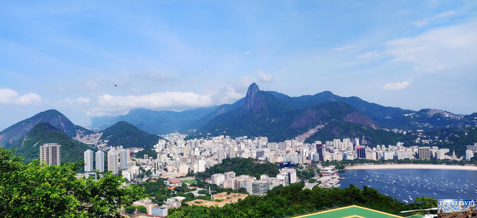 Brésil Rio de Janeiro Morro de UrcaPanorama