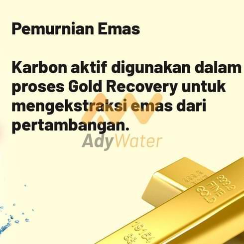 jual karbon aktif untuk emas