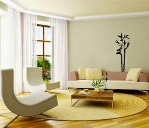 decoración sala asiática