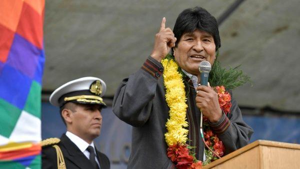 Evo Morales rechaza mentiras y conspiración de la derecha