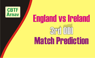 Cricfrog Who Will win today Ireland tour of England, 2020 Ire vs Eng 3rd International Ball to ball Cricket today match prediction 100% sure