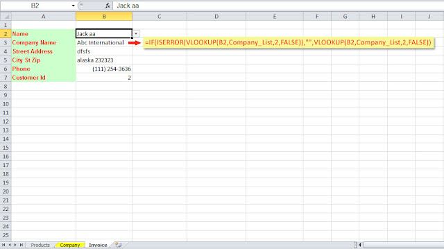 excel dynamic name