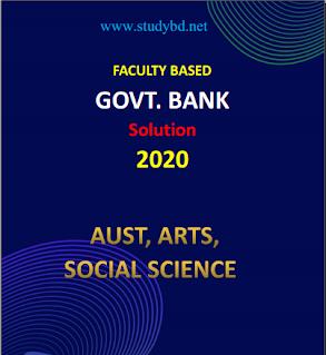 Faculty Based Govt. Bank Job Solution pdf.