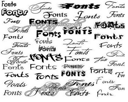 Download 180 Best Professional Fonts Free Download ~ AJK Soft
