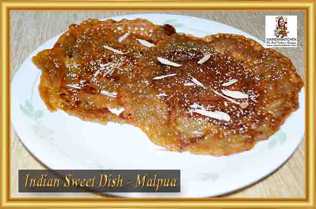 Indian Sweet Dishes - Malpua