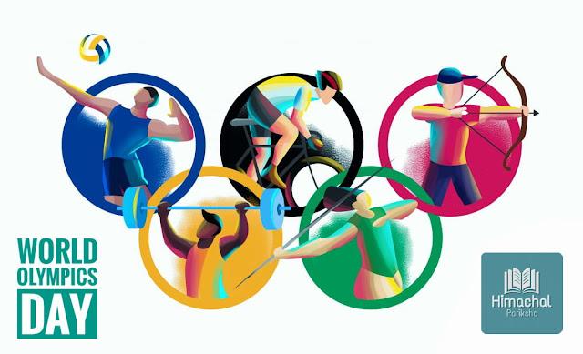 World Olympic Day | 23 June | Himachal Pariksha