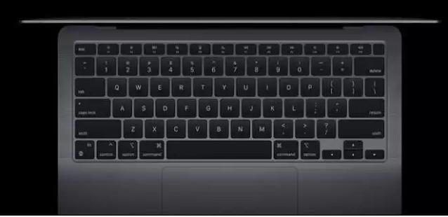 MacBook Air 13 (M1, 2020) Magic Keyboard