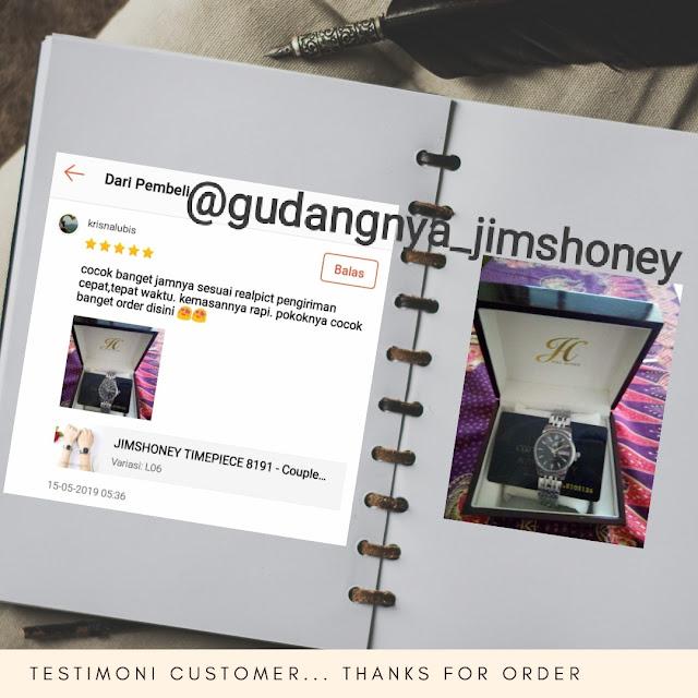 Testimoni Jam Tangan Jimshoney Timepiece 8191 Couple