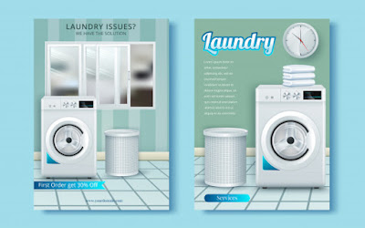 contoh brosur laundry kiloan