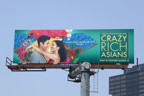 Crazy Rich Asians film billboard