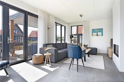 Villa am Wasser in Holland für Angler