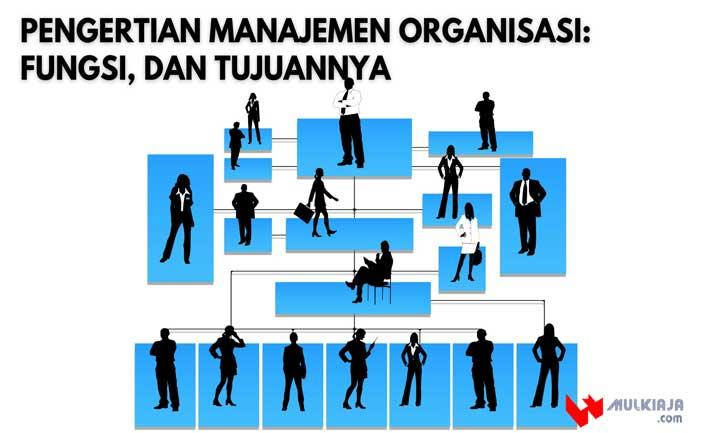 Pengertian Manajemen Organisasi: Fungsi, dan Tujuannya