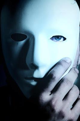 Mask framför ansikte - Rörelse för djurrätt