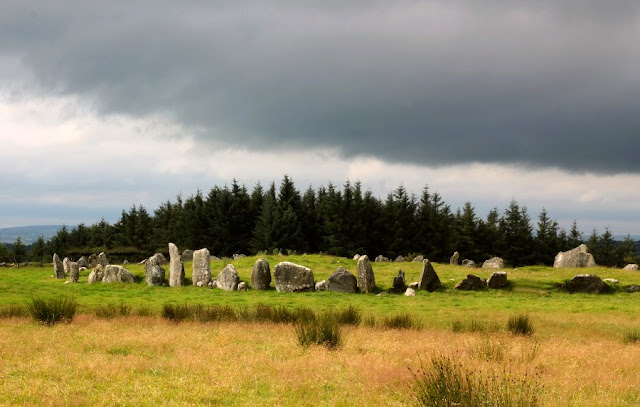 Bealtany Stone Circle Full View