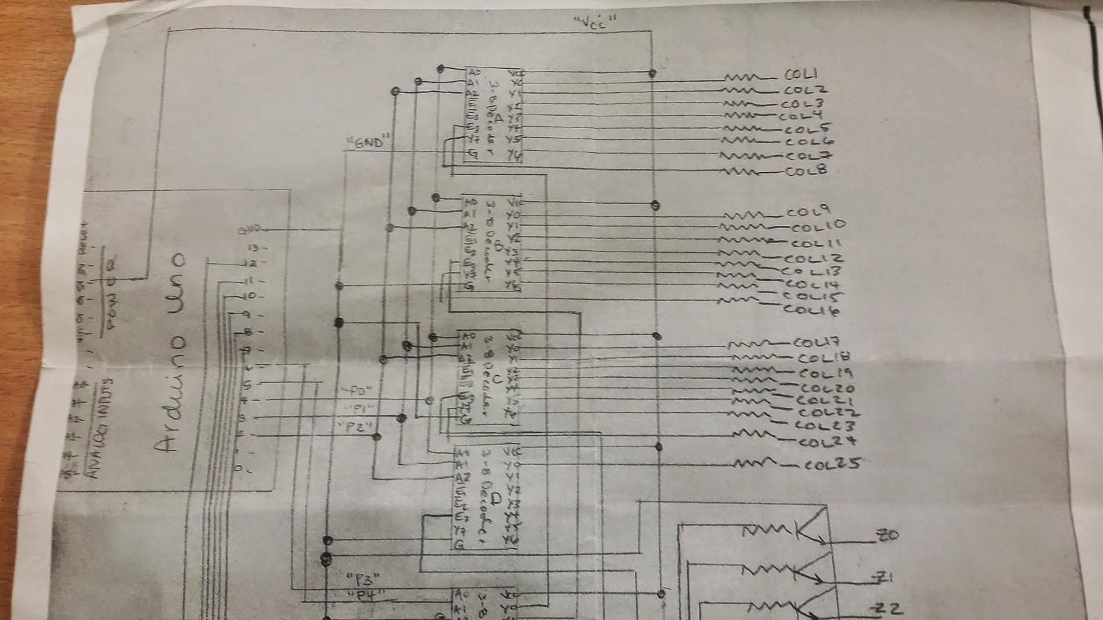 Arduino led matrix max7219