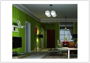 warna cat ruang tamu menurut feng shui hijau kombinasi