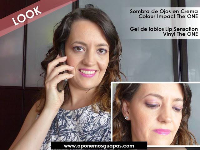 Look de maquillaje A Ponernos Guapas con The One Oriflame