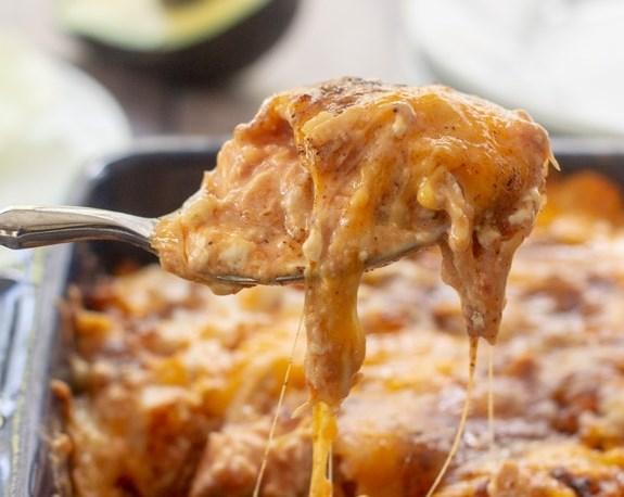 Mexican Chicken Casserole #dinner #comfortfood