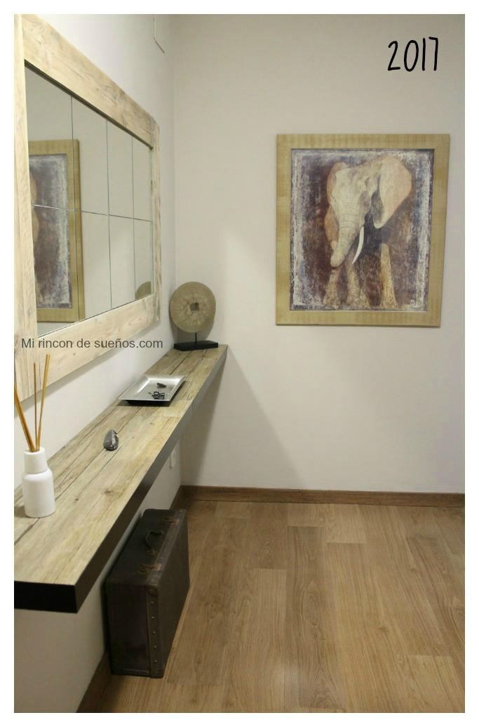 Mi rinc n de sue os recibidor natural style sorteo for Empresa vasca muebles baratos