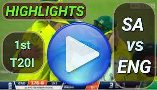 SA vs ENG 1st T20I 2020