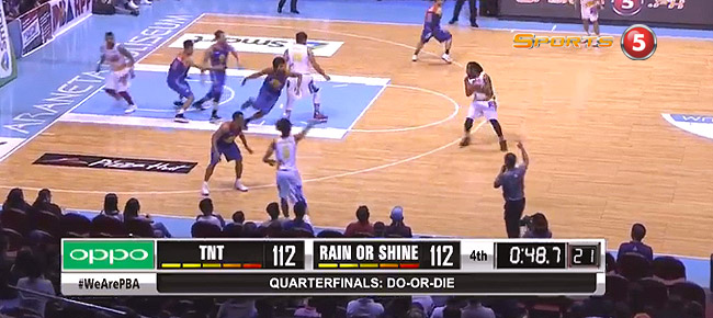 TNT eliminates Rain or Shine, 118-114 (REPLAY VIDEO) September 29 / Quarterfinals