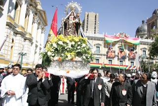 SOLEMNIDAD DE NUESTRA SEÑORA DEL CARMEN PATRONA DE BOLIVIA