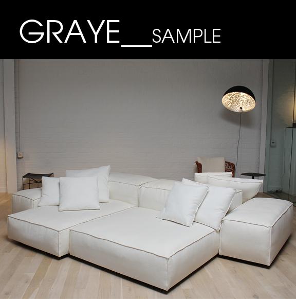 Graye los angeles graye los angeles sample sale 2017 for Living divani softwall