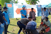Turkiye Diyanet Foundation (TDV) Sembelih 67 Ekor Hewan Qurban di Pidie Jaya