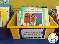 Teaching with mentor texts is easier when you have a basket of books, ready to choose from. This list of mentor texts for reading and writing include books for kindergarten through 5th grade in fiction and nonfiction. Use them to teach reading skills and strategies from story elements to main idea and writing strategies, too, like personal narrative beginnings and expository structure.