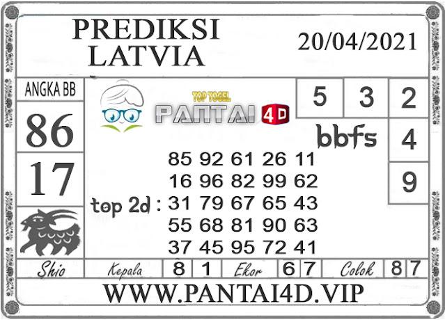 PREDIKSI TOGEL LATVIA PANTAI4D 20 APRIL 2021