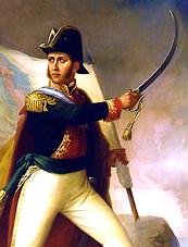 De Ramón Pérez - Presidencia de la República: http://www.inehrm.gob.mx Imagen tomada del libro: Eduardo Báez, La pintura militar en el siglo XIX, México, SDN, 1994, p. 21., Dominio público, https://commons.wikimedia.org/w/index.php?curid=17701045