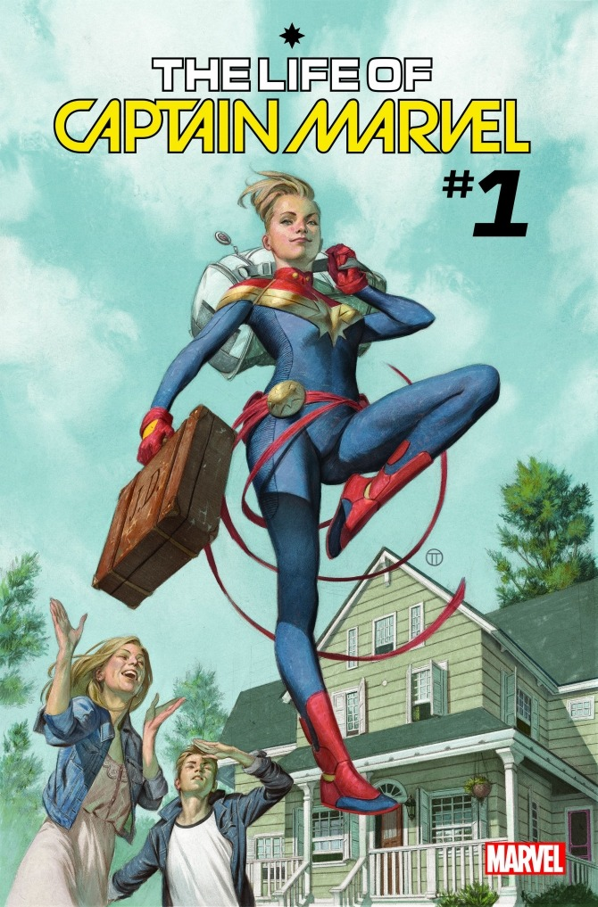 Meanwhile In A Different Note Marvel Comics Is Updating The Origin Of Their Captain Marvel