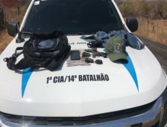 PM de Santo Inácio prende dois homens acusados de realizaram assaltos em Santa Cruz e Wall Ferraz