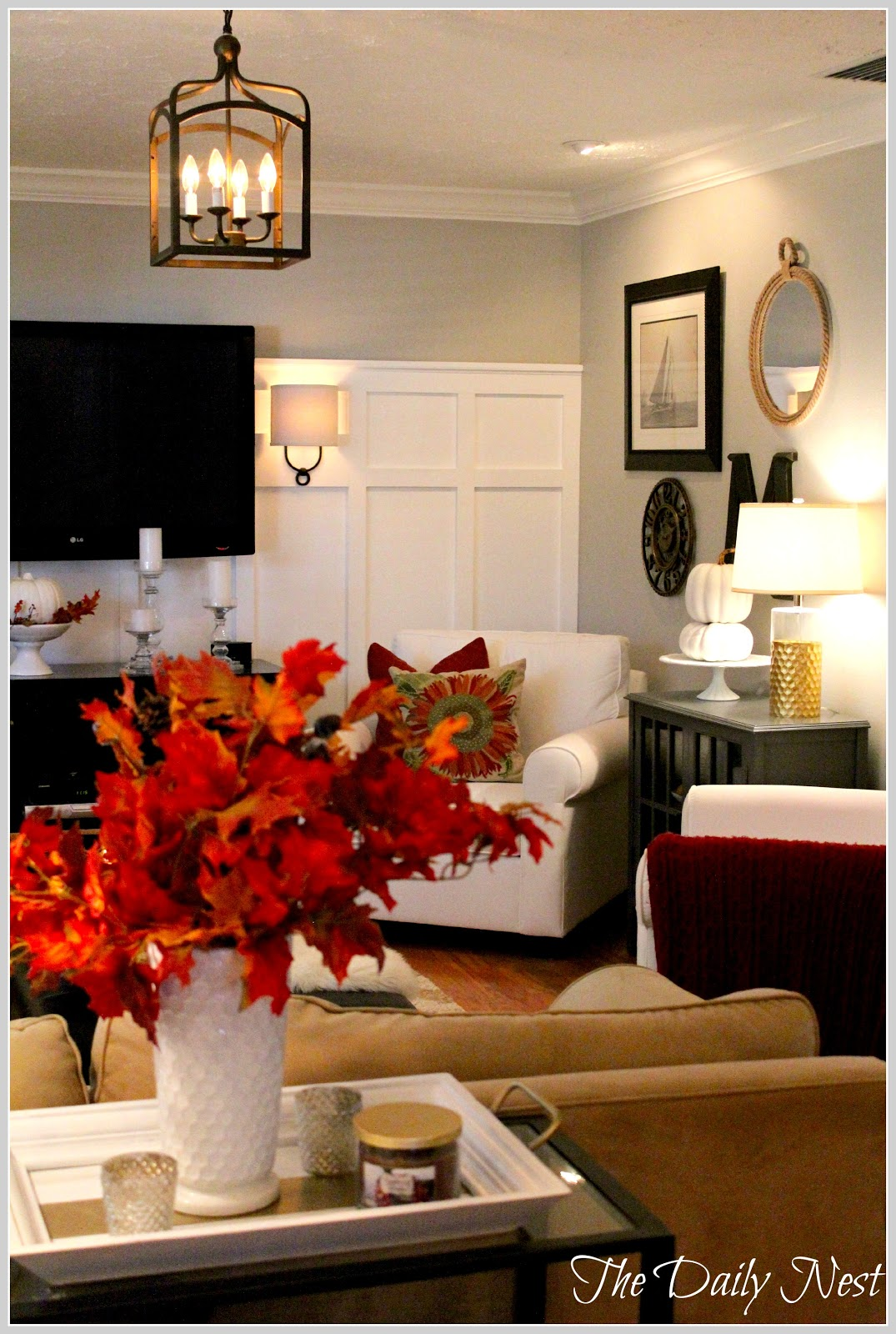 Fall In The Living Room