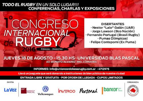 1° Congreso Internacional de Rugby