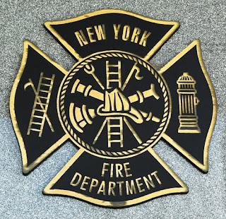 New York Fire Department badge - Zadroga Act