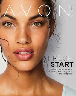 avon catalog fresh start sale flyer