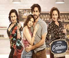 capítulo 96 - telenovela - amor a la catalan  - canal 13